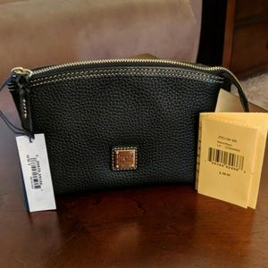 NWT Dooney & Bourke Leather Cosmetic Case
